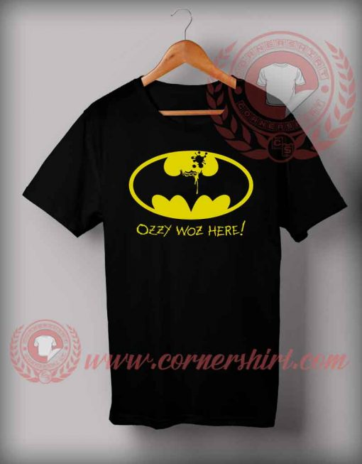Ozzy Woz Here Halloween Shirts For Adults