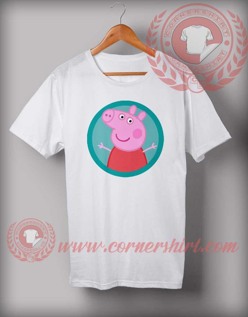 Peppa Pig T Shirt Custom Design T Shirts On Sale By