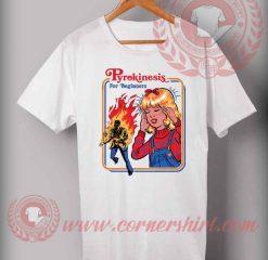 Cheap Custom Made T shirts Pyrokinesis
