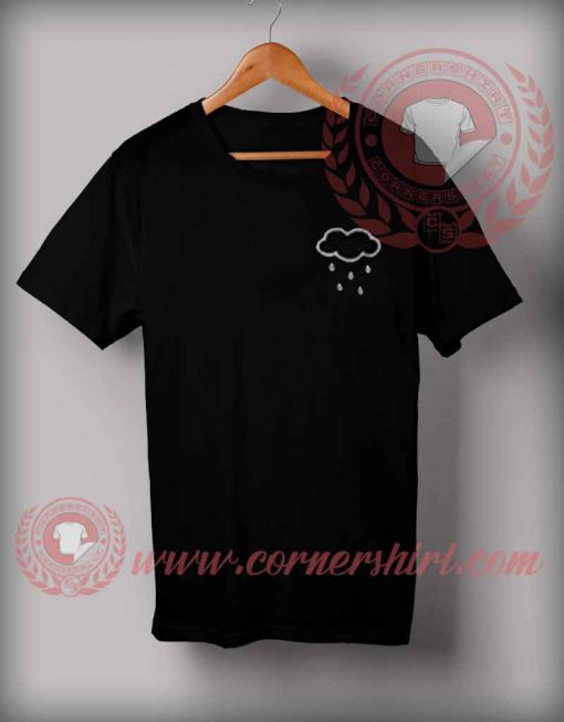 Cheap Custom Made T shirts Rain