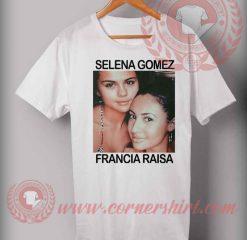 Selena Gomez Francia Raisa T shirt