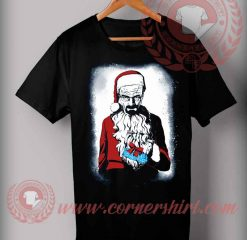 Scary Santa T shirt Funny Christmas Gifts For Friends
