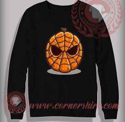 Spider Pumpkin Sweatshirt