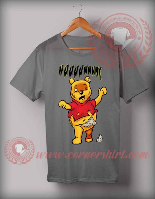 Cheap Custom Zombie Pooh Halloween Shirts For Adults