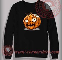 Zombie Pumpkin Halloween Sweatshirt