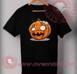 Zombie Pumpkin T shirt
