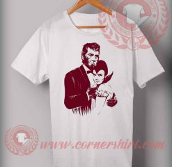 Cheap Custom Made Dracula Couple T shirt