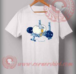 Cheap Custom Made T shirts Broken Egg