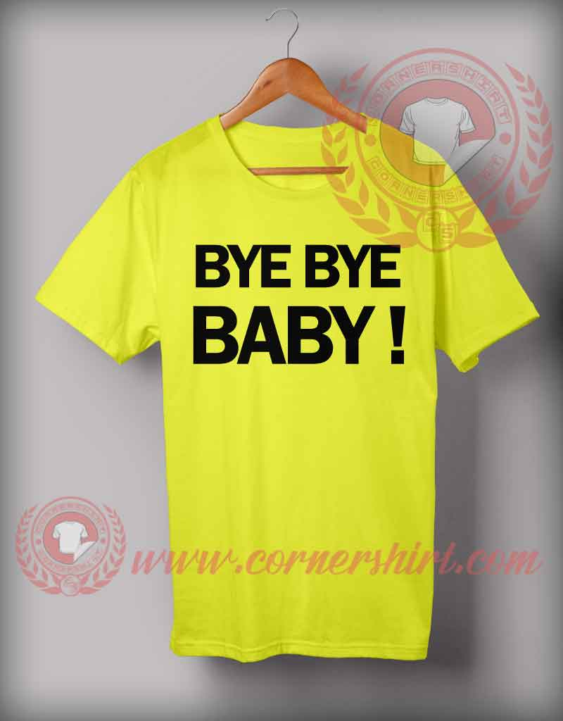 Cheap Custom Made Bye Bye Baby Valentino Rossi Shirts