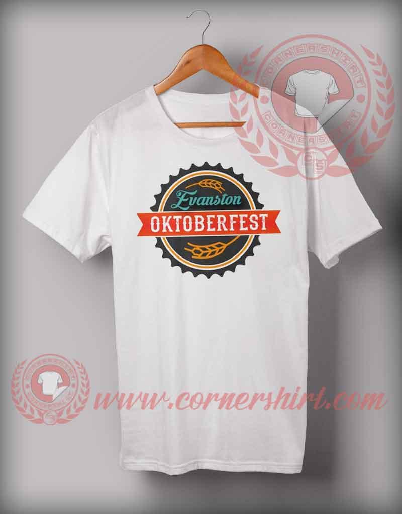 Cheap custom made t shirts evanston octoberfest for Budget custom t shirts