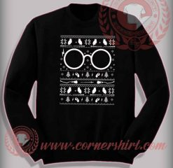 Funny Christmas Gifts For Friends Harry Potter Knit Sweatshirt
