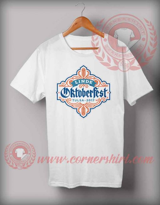Cheap Custom Made T shirts Linde Octoberfest Tulsa