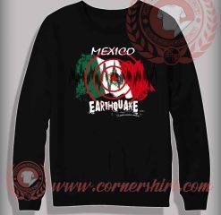 Mexico Earthquake Sweatshirt