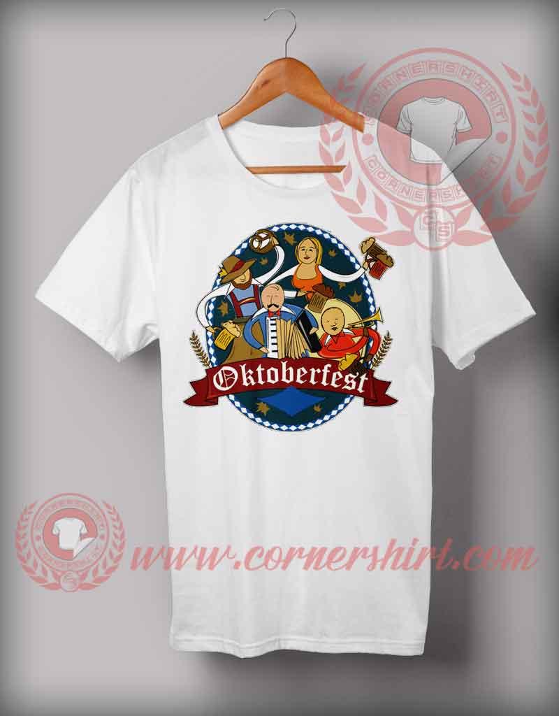 Cheap custom made munich beer octoberfest t shirts for Budget custom t shirts