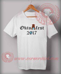 Cheap Custom Made Octobearfest Beer 2017 T shirts