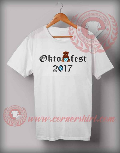 Cheap Custom Made Octobearfest Beer 2017 T shirts