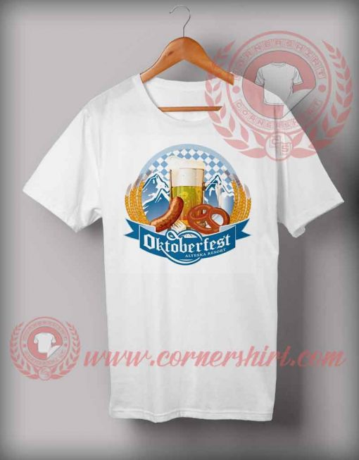 Cheap Custom Made Octoberfest Aleyska Resort T shirts