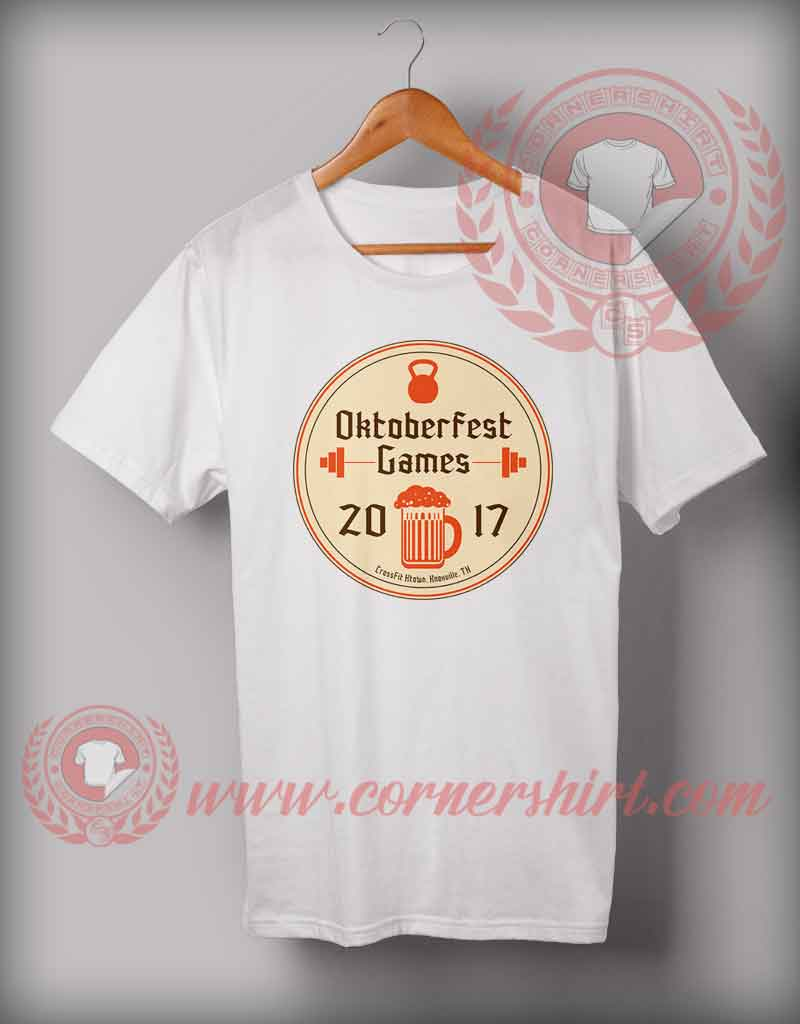 Cheap custom made octobeerfest games t shirts for Custom cheap t shirts