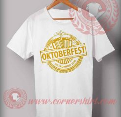 Cheap Custom Made Octoberfest Willkomen Zum T shirts