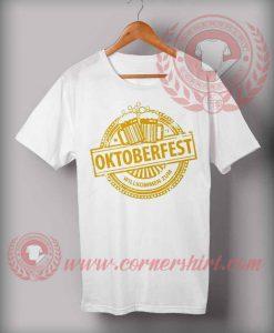 Cheap Custom Made Octoberfest Willkomen Zum T shirts
