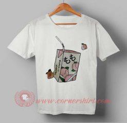 Peachy Juice Box T shirt