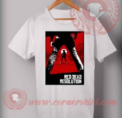 Red Dead Resolution T shirt