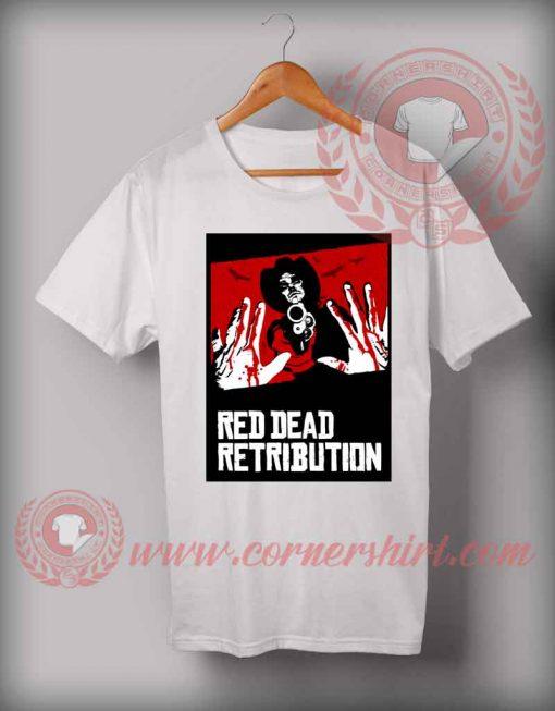 Red Dead Retribution T shirt