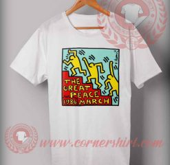 The Great Peace March T shirt