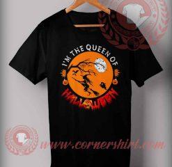 The Queen Of Halloween T shirt