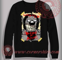 Wanted Dracula Sweatshirt