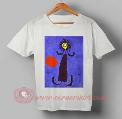 Woman In front Of Sun 1950 Joan Miro Vintage Painting T shirt