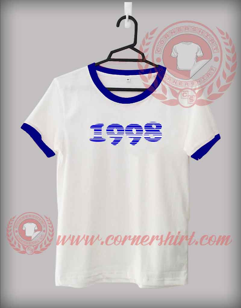 1998 t shirt cheap custom made t shirts by for Custom made tee shirts