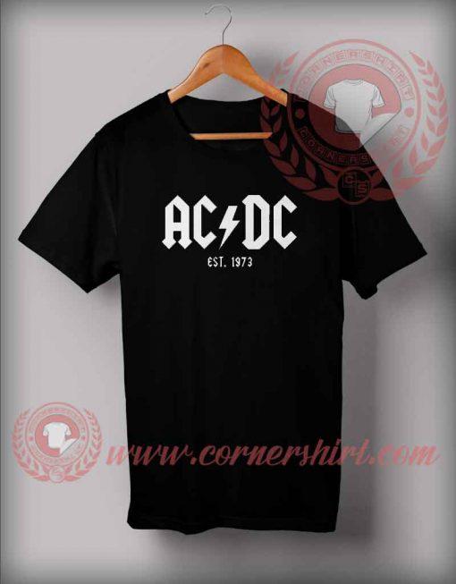 ACDC Est 1973 T Shirt