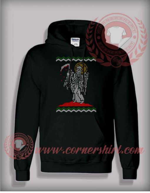 Angel Of Death Christmas Pullover Hoodie