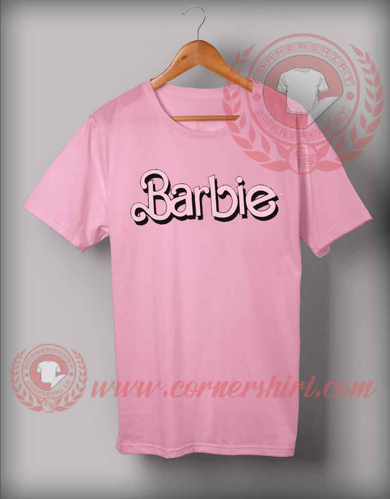 Barbie t shirt custom design shirts on sale by for Black barbie t shirts