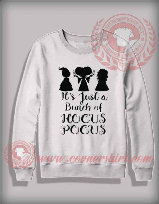 Cheap Costume Halloween Sweatshirt Bunch Of Hocus Pocus