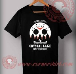 Crystal Lake Camp Counselor T Shirt
