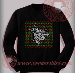 Christmas Fly Sweatshirt Funny Christmas Gifts For Friends