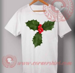Christmas Holly T shirt
