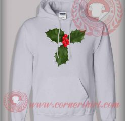 Christmas Holly Pullover Hoodie