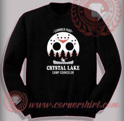 Crystal Lake Camp Counselor Sweatshirt