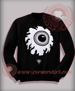 Eyeball Halloween Sweatshirt For Adults