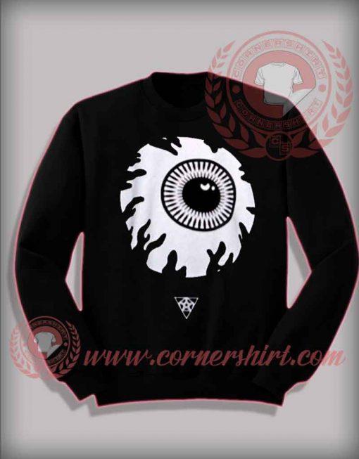Eyeball Halloween Sweatshirt For Adults