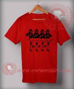Fuck Off Women Dance T shirt
