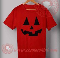 Happy Jack Face Halloween T Shirt