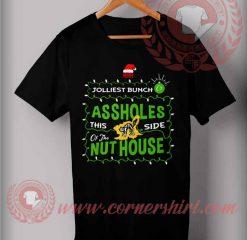 Jolliest Bunch Christmas T shirt