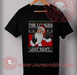 Just Right Santa Christmas T shirt