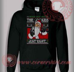 Just Right Santa Pullover Hoodie