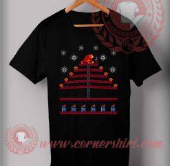 Kongmas Tree Christmas Fly T shirt