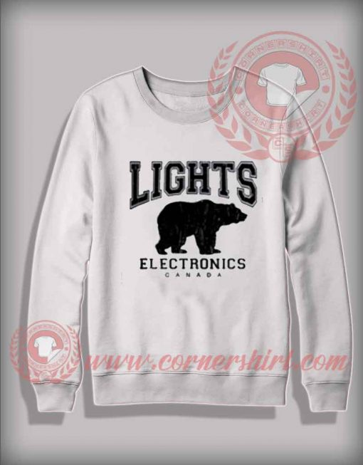 Lights Electronics Canada Sweatshirt